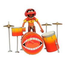 The Muppets Select Akční figurka Animal & Drums 11 cm