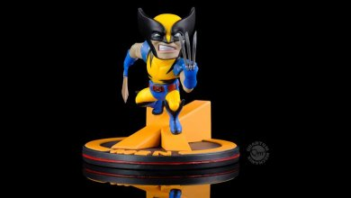 Marvel Q-Fig Diorama Wolverine (X-Men) 10 cm