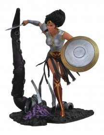 DC Comic Gallery PVC Socha Dark Knights Metal Wonder Woman 23 c