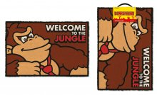 Donkey Kong Doormat Welcome To The Jungle 40 x 60 cm