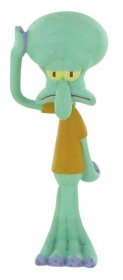 SpongeBob Square Pants mini figurka Squidward 8 cm