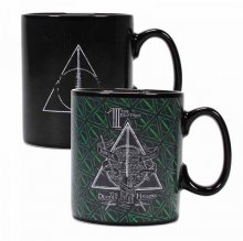 Harry Potter Heat Change Mug Deathly Hallows
