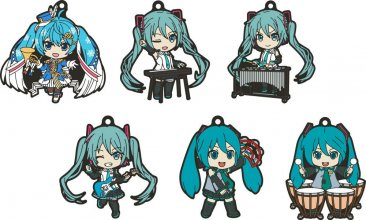 Character Vocal Series 01: Hatsune Miku Nendoroid Plus Rubber Ke