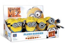 Despicable Me 2 Plyšák 13 cm Minion Buddies Display (12)