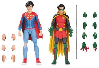 DC Comics Icons Action Figure 2-Pack Robin & Superboy 12 cm