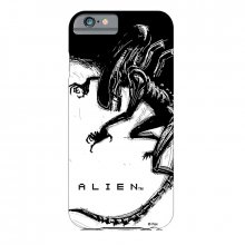 Pouzdro na iPhone 5 Alien Xenomorph Black & White Comic