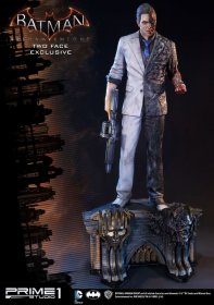 Batman Arkham Knight 1/3 Socha Two-Face & Two-Face Exclusive 80
