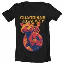 Guardians Of The Galaxy T-Shirt Rocket & Groot