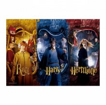 Harry Potter skládací puzzle Harry, Ron & Hermione