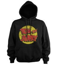 Tom a Jerry hoodie mikina Washed Logo