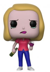 Rick and Morty POP! Animation Vinyl Figure Beth with Wine Glass
