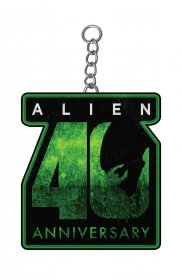 Alien 40th Anniversary Metal Keychain