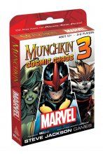 Munchkin Card Game Expansion Marvel 3: Cosmic Chaos *English Ver
