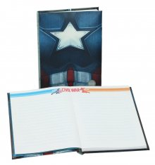 Captain America Civil War Notebook Light Up Captain America Ches