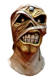 Iron Maiden latexová maska Powerslave Mummy