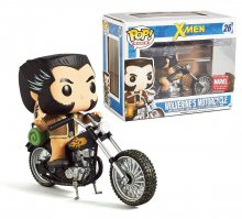 X-Men POP! Rides Vinyl Vehicle with Figure Motorcycle & Wolverin