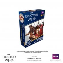 Doctor Who Exterminate! Miniatures The Fires of Pompeii *English