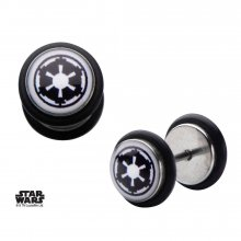 Star Wars Screw Back Naušnice Galactic Empire Symbol Graphic Fro