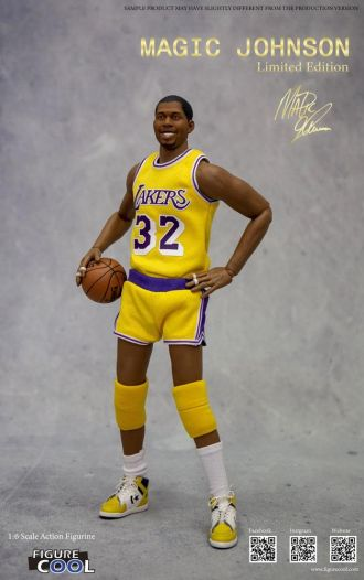 NBA Collection Akční figurka 1/6 Magic Johnson Limited Edition 3
