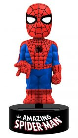 Marvel Comics Body Knocker Bobble-Figure Spider-Man 15 cm