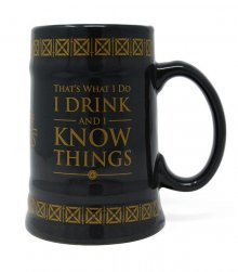 Game of Thrones Stein Drink & Know Things
