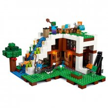 LEGO Minecraft The Waterfall Base 21134 Stavebnice