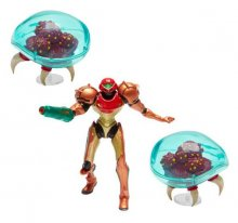 World of Nintendo mini figurka 3-Pack Metroid Samus Bounty Hunte