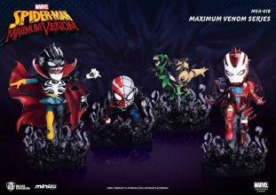 Marvel Maximum Venom Collection mini Egg Attack figurka Bundle S