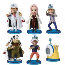 One Piece WCF ChiBi Figures 4 cm Assortment Navy Army (25)