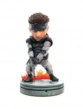 Metal Gear Solid PVC SD Socha Solid Snake 20 cm