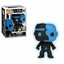 Justice League Movie POP! Movies Vinylová Figurka Cyborg Silhoue