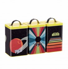 Star Wars Kitchen Storage Set Retro Vehicles