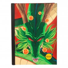 Dragon Ball Z poznámkový blok with Light Shenron Dragon
