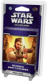 Star Wars LCG The karetní hra Force Pack Heroes and Legends *Eng