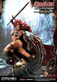 Red Sonja Socha Red Sonja She-Devil with a Vengeance Deluxe Ver