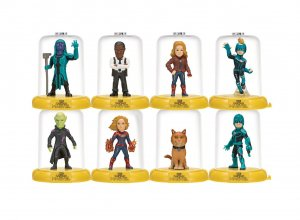 Captain Marvel Domez mini figurky 7 cm Series 1 Display (24)