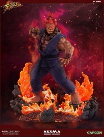 Street Fighter Mixed Media Socha 1/4 Akuma Ultimate Exclusive 5