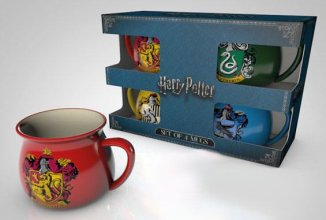 Harry Potter Espresso Mugs 4-Pack Crests