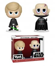 Star Wars VYNL Vinyl Figures 2-Pack Darth Vader & Luke Skywalker