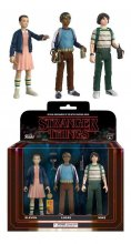 Stranger Things ReAction Akční Figurky 3-Pack Mike, Eleven & Lu