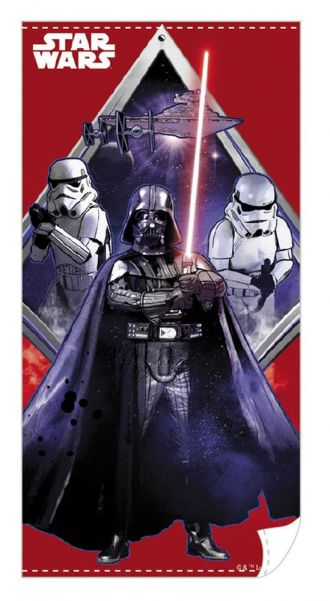 Star Wars ručník Darth Vader Red 140 x 70 cm