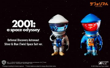 2001: A Space Odyssey Artist Defo-Real Series Soft Vinyl Figures
