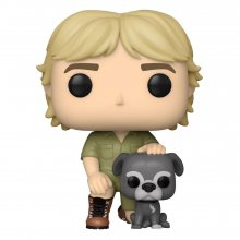 The Crocodile Hunter POP! TV Vinylová Figurka Steve Irwin w/Sui