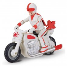 Toy Story 4 Pullback Figure Duke Caboom with Motorcycle 10 cm