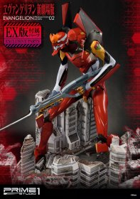 Neon Genesis Evangelion Sochas EVA Production Model-02 & Exclus