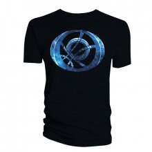 Tričko Doctor Strange Blue Symbol Oblong black