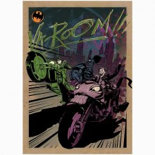 Kovový plakát DC Comics Motor Club Gotham City MC 32 x 45 cm