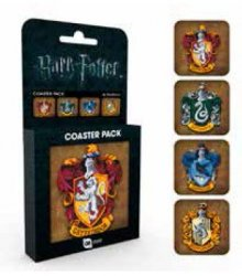 Harry Potter podtácky 4-pack Crests