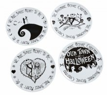 Nightmare before Christmas sada talířů 4-Pack We Are Simply Mean