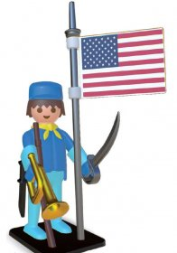 Playmobil Nostalgia Collection Statue American Horseman 25 cm